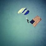 USAF parachuter #3