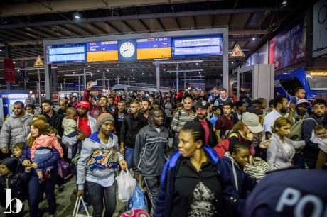 September 12, 2015, Munich Hauptbahnhof. The arrival of 12,200 refugees made for a total of 63,000 arriving Munich in 13 days. It was the next day, days before the world renowned Oktoberfest was set to commence, that Germany started to become concerned and halted trains coming from Austria that were bringing these refugees in by the masses.